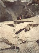 Rock Climbing Photo: pitch one variation: