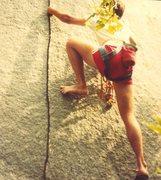 Rock Climbing Photo: who needs shoes?