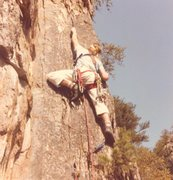 Rock Climbing Photo: Shane Cobourn on FA
