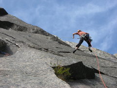 Rock Climbing Photo: Another pendulum photo. For some reason, I thought...