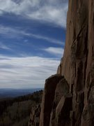 Rock Climbing Photo: No climbers for miles!