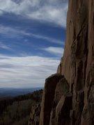 Rock Climbing Photo: No climbers for miles!