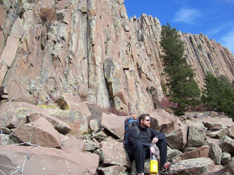 Rock Climbing Photo: Where the heck am I?