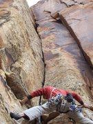 Rock Climbing Photo: Not telling yet.