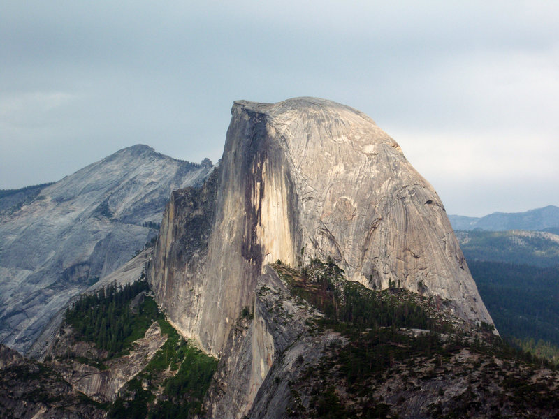 Rock Climbing Photo: Half Dome from Glacier Point