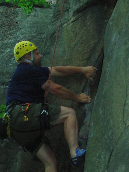Rock Climbing Photo: Lay back