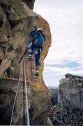 Rock Climbing Photo: Paul starting pitch 4