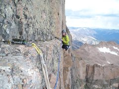 Rock Climbing Photo: Look how beautiful she is over there- safely holdi...