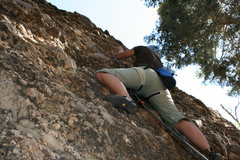 Rock Climbing Photo: Clipping in