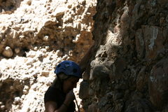 Rock Climbing Photo: Eating rope :)