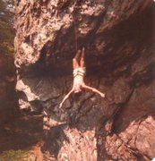 Rock Climbing Photo: no, the picture is not upside down....