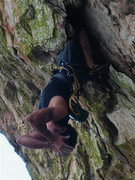 Rock Climbing Photo: Why it might be better not to hang upside down too...