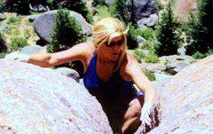 Rock Climbing Photo: Ed's Crack, Vedauwoo, WY