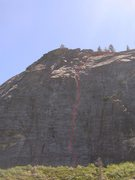 Rock Climbing Photo: Bear's Reach.  I've only climbed it once, so let m...