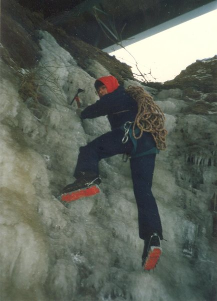 Rock Climbing Photo: Logtown area ice