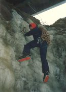 Rock Climbing Photo: Logtown area ice