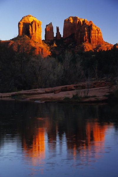 Rock Climbing Photo: Cathedral Rock in Sedona