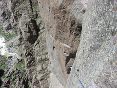 Rock Climbing Photo: Hot day! Movable Stoned Voyage.