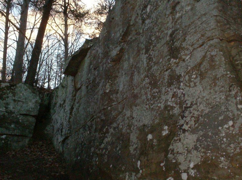 Rock Climbing Photo: Bouldering slab.