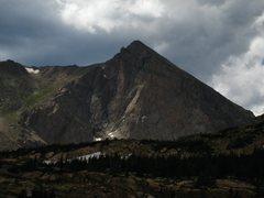 "Rock Climbing Photo: ""The Ramp"" illuminated."