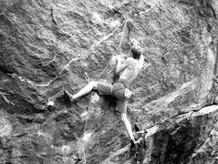 Rock Climbing Photo: Gettin' it on...
