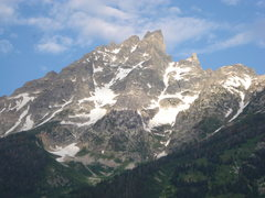 Rock Climbing Photo: Teewinot from Jenny Lake