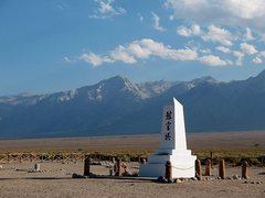 Rock Climbing Photo: The cemetery at Manzanar, Lone Pine Area