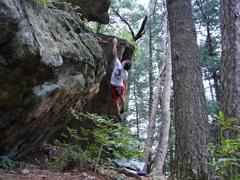 Rock Climbing Photo: Big ups!