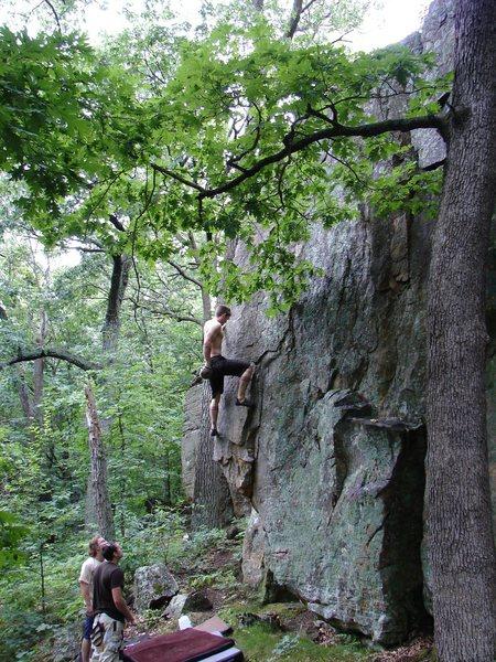 Rock Climbing Photo: Scarete.