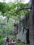 Rock Climbing Photo: Scarete.