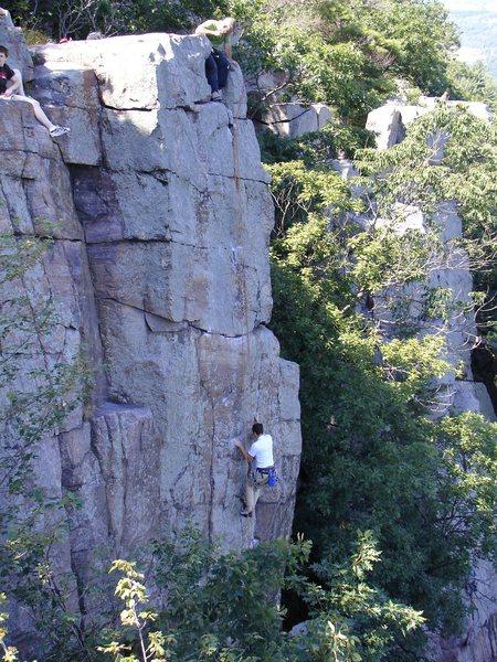 Rock Climbing Photo: WWH.  Climber: Isaac Therneau