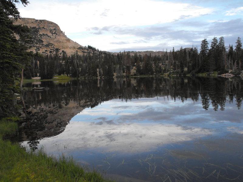 7 a.m. at ruth lake