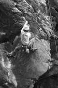 Rock Climbing Photo: Isaac on yoda...