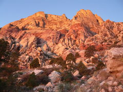 Rock Climbing Photo: Sunrise on the approach