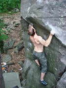 Rock Climbing Photo: Rick, August 08.  We thought this was Show Me the ...