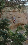 Rock Climbing Photo: Mike Williams on Powderhorn.