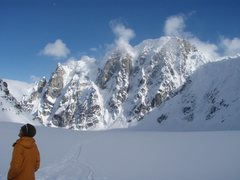 Rock Climbing Photo: Rooster Comb, Peak 11,300 basecamp