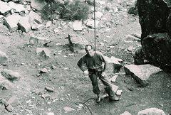 Rock Climbing Photo: escalante canyon