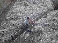 Rock Climbing Photo: Cornelius at the Voo.