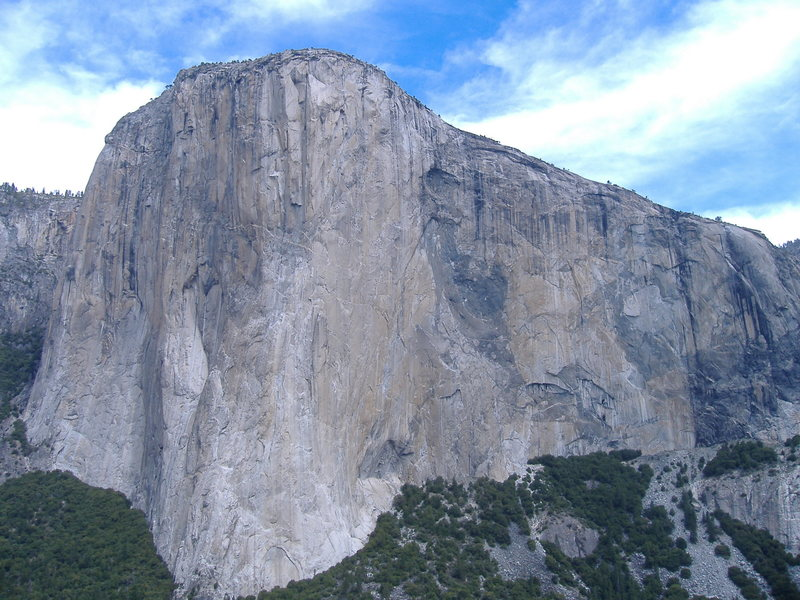 Rock Climbing Photo: El Cap.  Really.