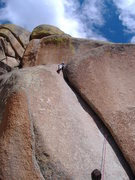 Rock Climbing Photo: Lower Progressive.