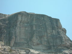 Rock Climbing Photo: Main west face of West Cottage Dome