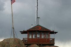 Rock Climbing Photo: Devils Head fire lookout.