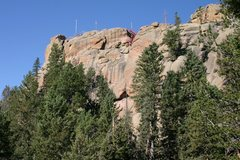 Rock Climbing Photo: The fire lookout from the Zinn Overlook trail.