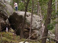 Rock Climbing Photo: Main Boulder at Quincy.