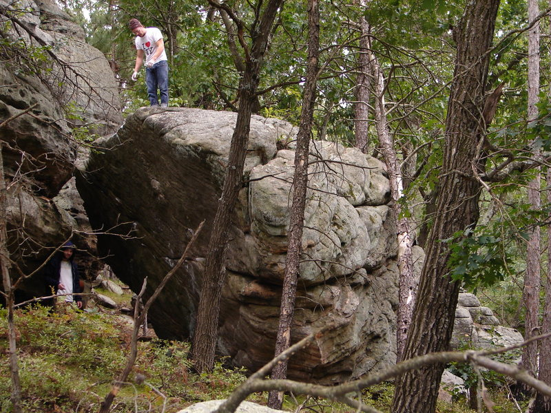 Rock Climbing Photo: Main Boulder.