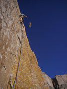 Rock Climbing Photo: Moments earlier I ripped off a huge flake and took...