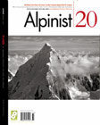 Cover of Alpinist #20.  This is a famous Bradford Washburn photograph.