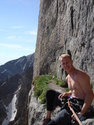 Rock Climbing Photo: Yellow wall biviy ledge.
