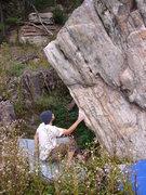 Rock Climbing Photo: Jim imagining the send.